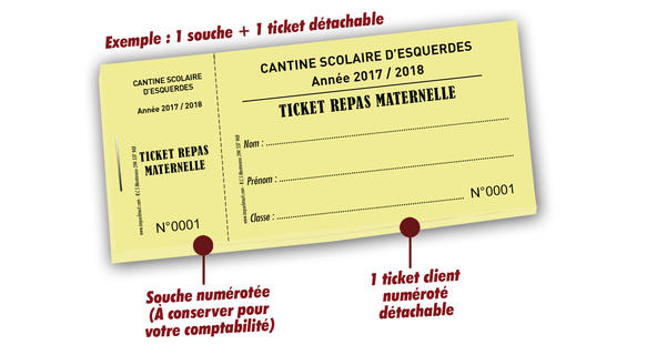 Ticket Restaurant Pour Associations