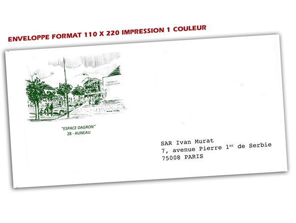 Super Prix tarifs impression d'enveloppes-imprimerie envelloppes  QU02