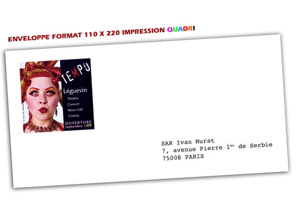 Prix tarifs impression d 39 enveloppes imprimerie envelloppes for Enveloppes a fenetre