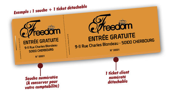 billetterie discotheques patinoires théatres Freedom